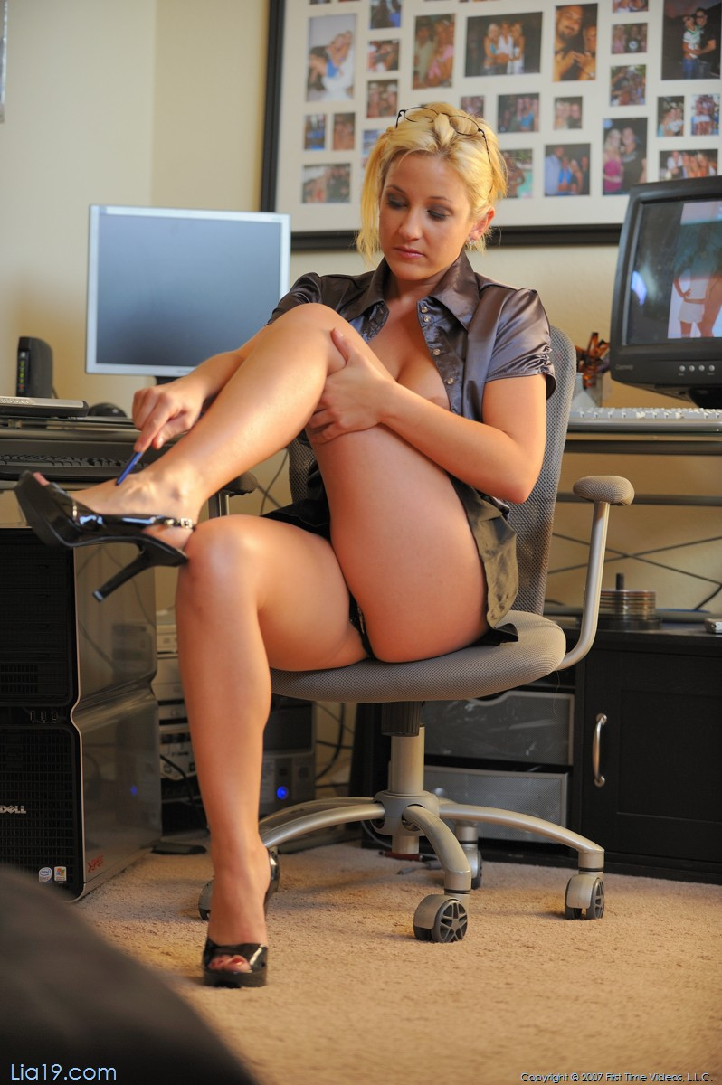 At Naughty the office girls