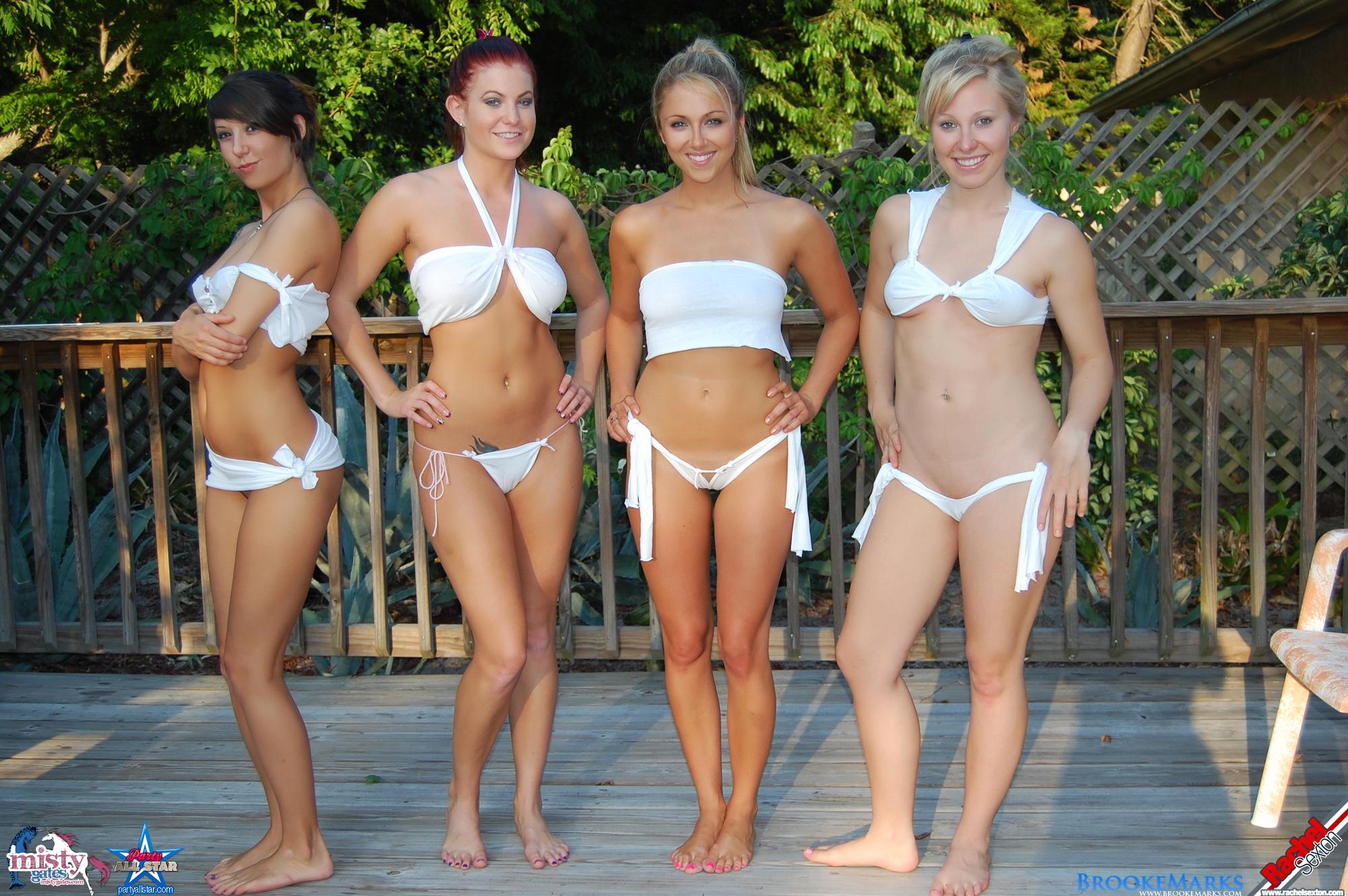 Wet Tee Shirt Contest Nude 103