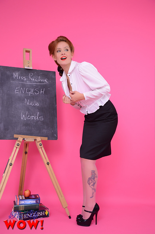 School teacher pink world, alliya wolf nude