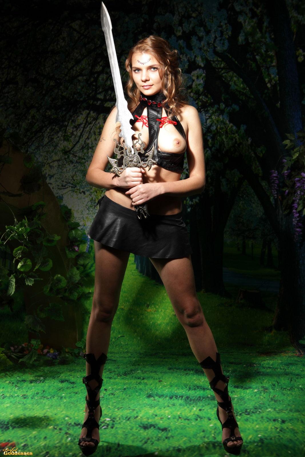 Sexy naked warrior exploited movie
