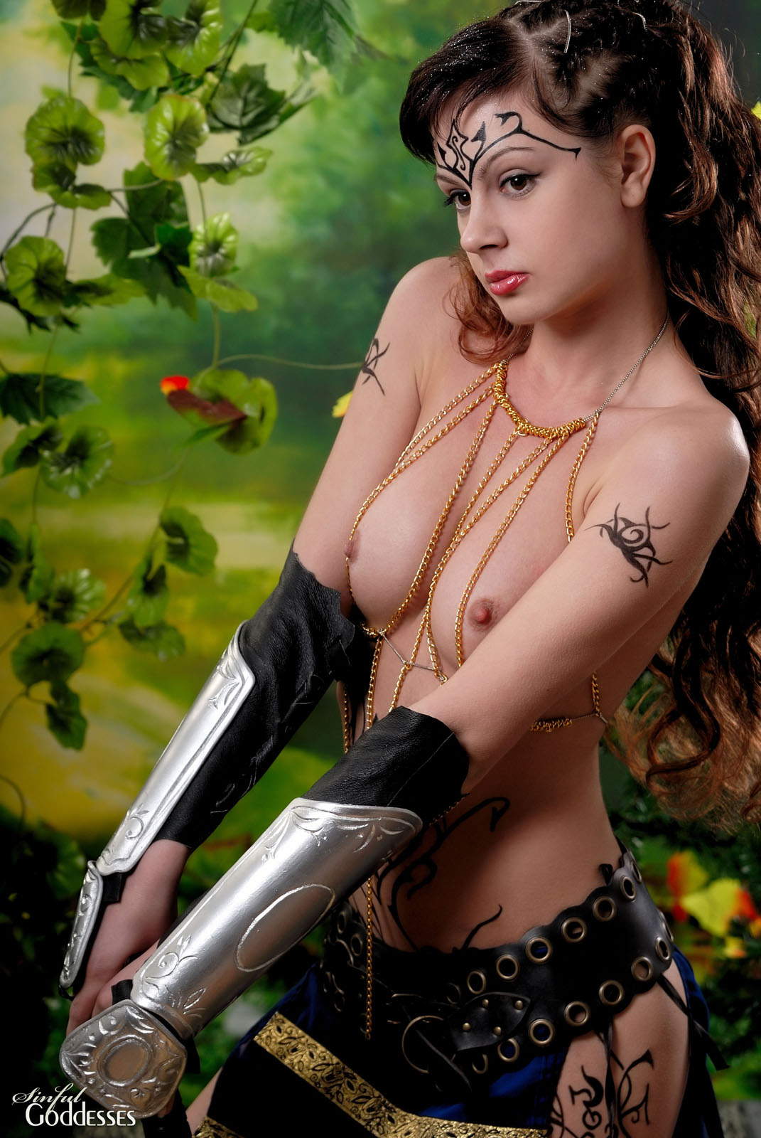 Girl hot warrior topless adult films