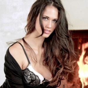 Tiffany Thompson in Black