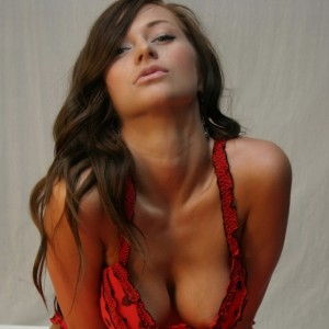 London Hart in Red