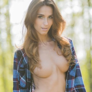 Cara Mell Naked In The Nature