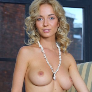 Beautiful Blonde Annabell Naked
