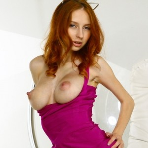 Marika C - Hottie In A Purple Dress