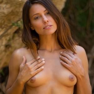 Anetta Keyes - Nude Bikini